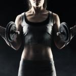 Bizeps Übungen, Bizeps Training für Frauen , 17408734_s